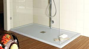 large shower base if stepping up slightly a problem this large shower tray is easily big