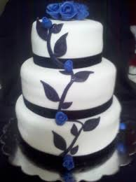 black and white and blue wedding cakes. Black White And Blue Wedding Cake Inside Cakes