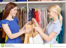 s assistant gives bags to the customer stock photo image s assistant gives bags to the customer royalty stock photos