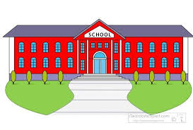 school building clipart.  School School Building Clipart Free  Clipartsgramcom Intended