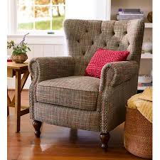 upholstered wingback chair. Beautiful Wingback Madison Upholstered Wingback Chair With Birch Wood Base Throughout