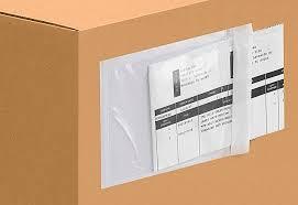 Packing List Envelopes Packing Slip Envelopes In Stock Uline