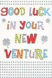 Congratulation For New Business Good Luck In Your New Venture Greeting Card Business Job