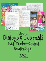 How Dialogue Journals Build Teacher Student Relationships Cult Of