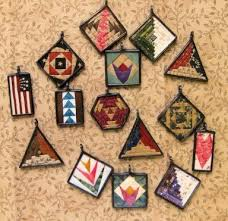 40 best Teeny Tiny Quilt Blocks images on Pinterest   Mini quilts ... & Me And My Stitches Quilt Jewelry Pins Pendants Patterns Adamdwight.com