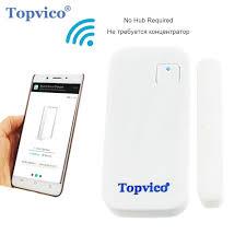 Topvico WIFI Door Sensor APP Control Door Security Alarm – Tech ...