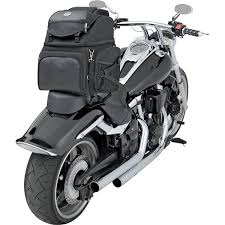 Motorcycle Luggage Rack Bag Inspiration Problem Solved Installing A Motorcycle Sissybar Bag When There's No