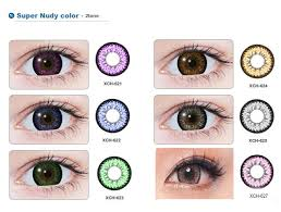 Freshlook Colorblends Toric Color Chart Geo Super Nudy Xch Series Plano Contact Lens My