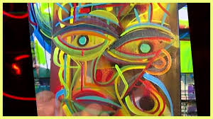 Crazy Painting Raeart Time Lapse Painting Crazy Abstract Art Youtube