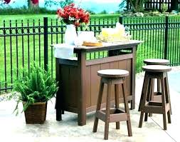 outdoor bar sets for height patio set table counter high top outside furniture tables sears