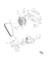 Kawasaki mule pro fxt eps kaf820bff starter motor parts best oem for bikes wiring diagram