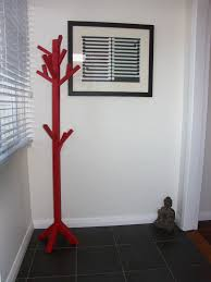 Red Coat Rack Red Coat Tree Ana White Woodworking Projects 11