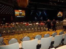 View In The Event Center In Section A Row D Seat 3