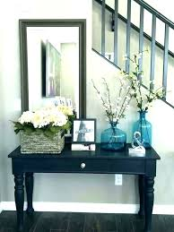 round entryway table decor small entryway table ideas foyer table decor round entrance table entrance table