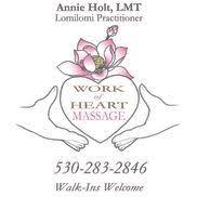 Work of Heart Massage - Quincy, CA - Alignable