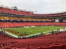 Fedex Field Section 127 Home Of Washington Redskins