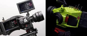red just custom designed cameras for