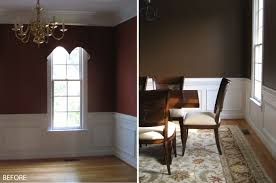 Living Room Brown Color Scheme Living Room With Chocolate Brown Walls Pretty Trellis Rug In