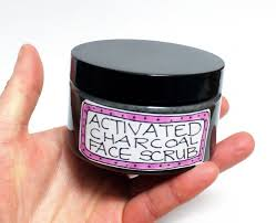 diy natural activated charcoal scrub and cleanser recipe for acne e skin cleanserforacne
