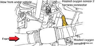 air fuel ratio sensor wiring diagram air wiring diagrams 2004 2006 nissan altima rear o2 sensor 2 5 air fuel ratio sensor wiring diagram