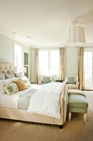 traditional bedroom ideas green. Good Looking Sea Coral Bedding Method Portland Traditional Bedroom Decorating Ideas With Beige Carpet King Bed Light Green O