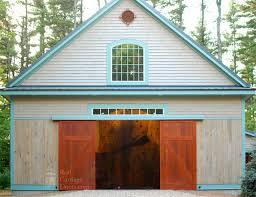 garage barn doorsBarn Garage Doors And Sliding Barn Doors On Home Gymnasium Garage