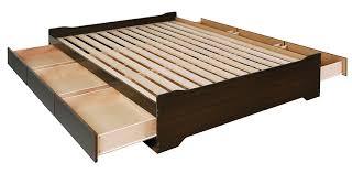 amazoncom prepac coal harbor mates platform storage bed with