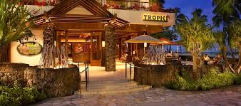 tropics bar grill is waikiki s newest sizzling hot spot it s the perfect place to experience hawaii s authentic beach cuisine