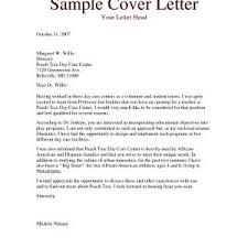 Leave Letter Format For Kindergarten New Early Childhood Education ...