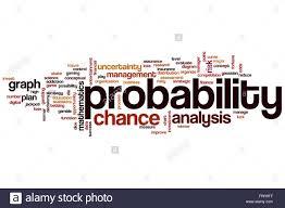 Probability Analysis Chart Probability Word Cloud Concept Stock Photo 100701567 Alamy