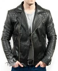 men s black leather biker jacket maze superior cow hide