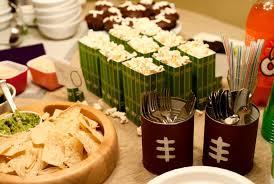 Homemade Super Bowl Decorations Super Bowl Party Ideas MFORUM 45