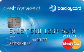 barclaycard cashforward credit card