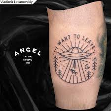 студия татуировки ангел