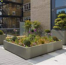 high quality extra large trough planter