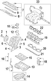 parts com® kia sorento engine appearance cover oem parts 2007 kia sorento lx v6 3 8 liter gas engine appearance cover