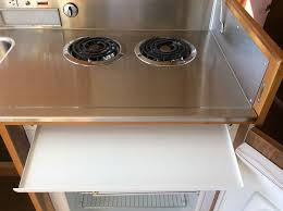 gas stove top cabinet. Kitchenette Stove Top Popular Can You Guess What This Cabinet Holds Retro Renovation Inside 1 | Winduprocketapps.com Kitchen Fan. Gas E