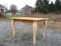 amish reclaimed barn wood desk with cabriole legs