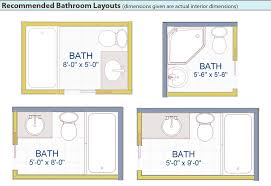 Creative of Compact Bathroom Plans Bathroom Design Layout Ideas With