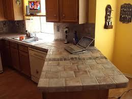 how to tile a kitchen countertop granite tile kitchen countertop ideas