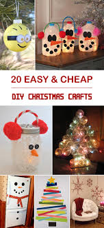 40 Easy And Cheap DIY Christmas Crafts Kids Can Make  DIY Christmas Crafts Cheap