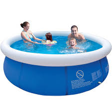 pools for kids.  Kids Summer Inflatable Swimming Pool PVC Water Sports Baby Kids Family Garden  Play Pools Big Portable Round Inside For I