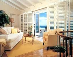 inspiration ideas plantation shutters with bi fold over sliding glass doors for uk