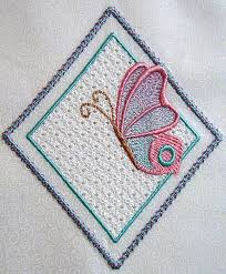 Free Wing Needle Embroidery Designs Wing Needle Butterflies 5x7