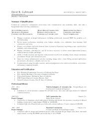 Sample Resume Of A Project Manager Best Of Construction Project Manager Resume Template Project Manager In