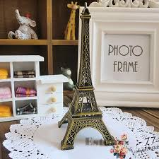 home decor 15cm retro alloy bronze tone paris eiffel tower
