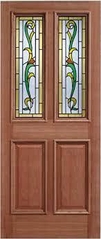 chelsea hardwood glazed external door