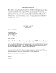 Cold Cover Letter Sample Cold Cover Letter Cityesporaco 6