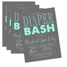 Diaper Shower Invitation Any Color Diaper Shower Invitation Baby Shower Invitation Diaper