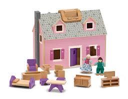melissa doug fold and go dollhouse